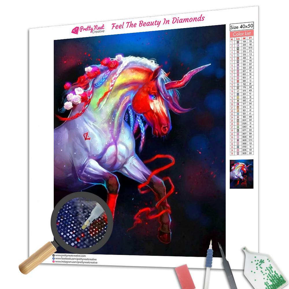 Clearance - Z Unicorn Diamond Painting