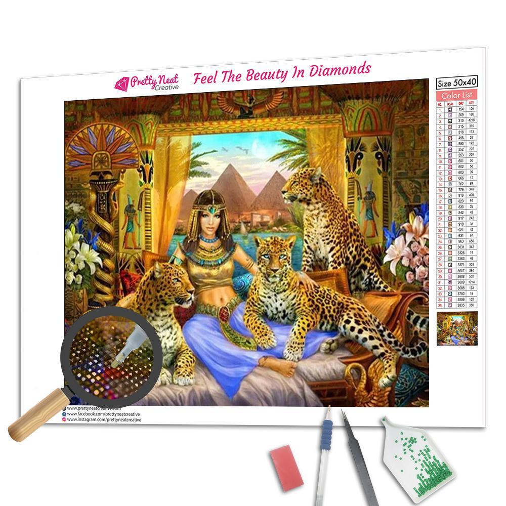 Cleopatra Square Diamond Painting