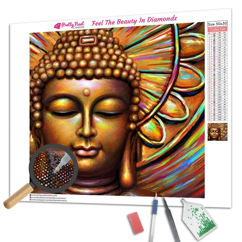 Color Buddha Diamond Painting