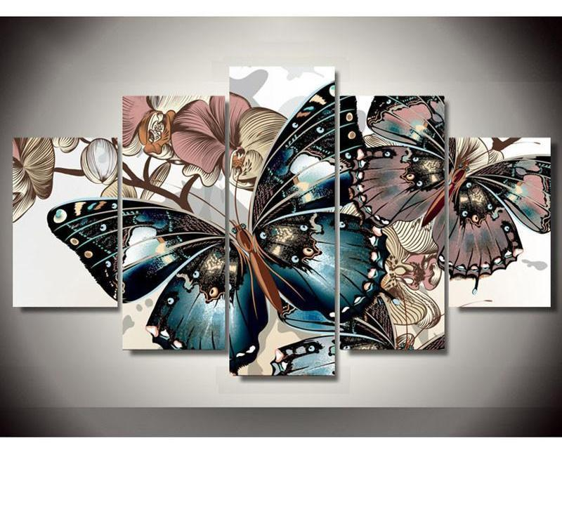 Colorful Butterfly Square Diamond Painting