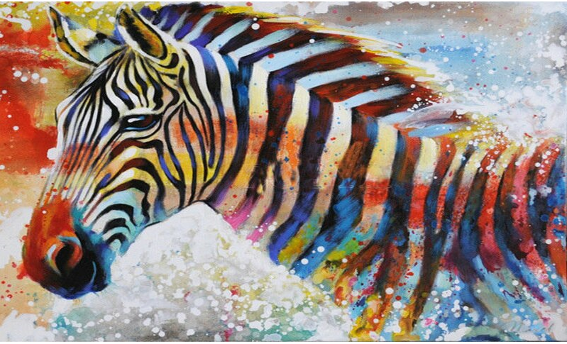 Colorful Horse Diamond Painting