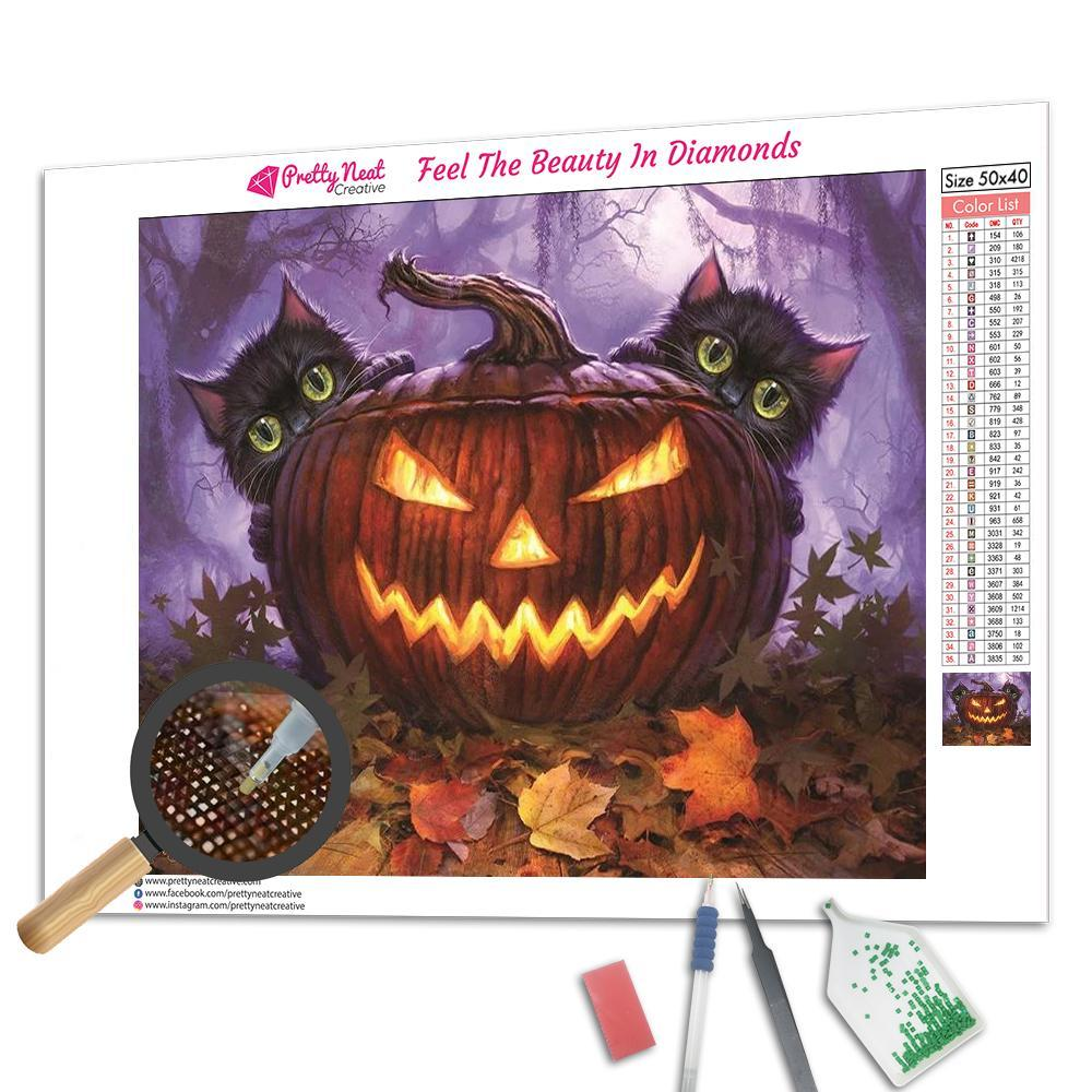 Countdown To Halloween Square Diamond Painting