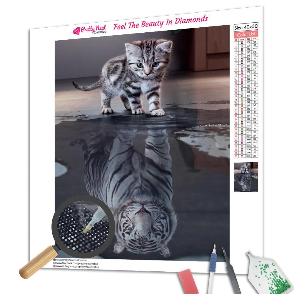 Creative Tiger Diamond Painting
