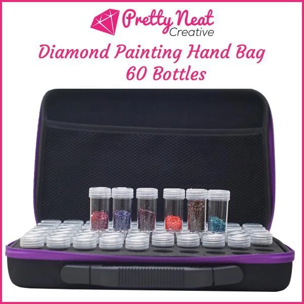 Diamond Painting Hand Bag 60 Bottles
