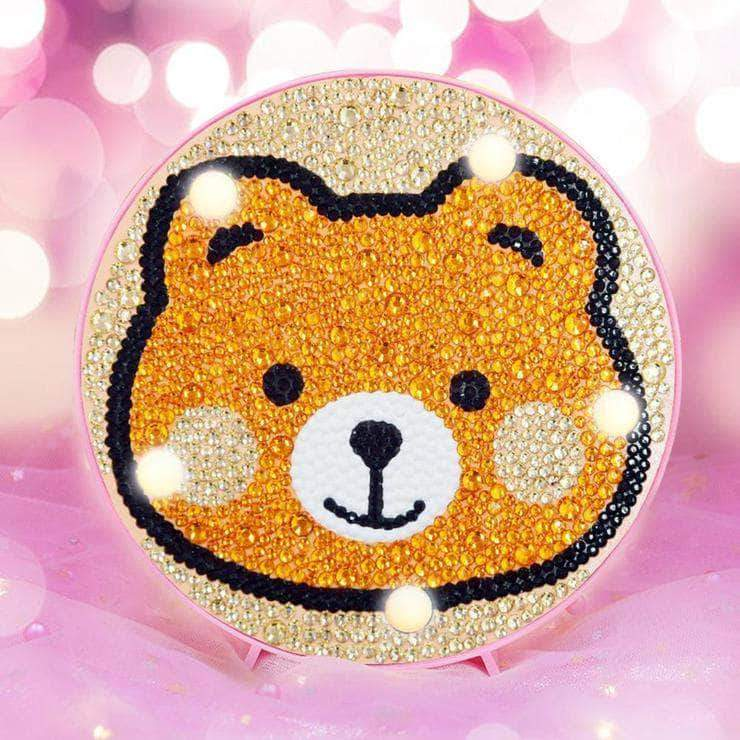 DIY BaBy Bear Light Diamond Painting
