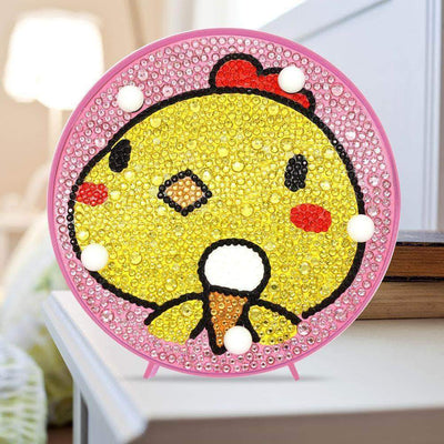 DIY Baby Chicken Cute Light Diamond Painting