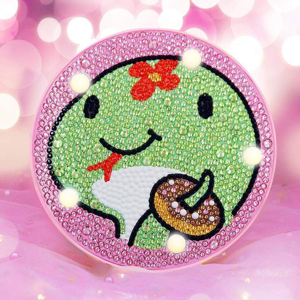 DIY Baby Snake Cute Light Diamond Painting