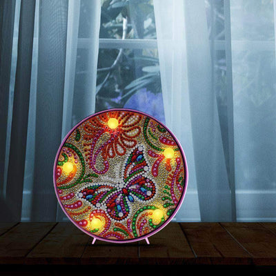 DIY Butterfly Light Diamon Painting