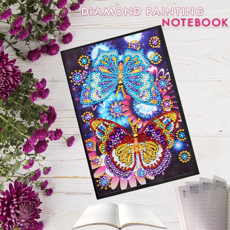 DIY Butterfly NoteBook Diamond Painting