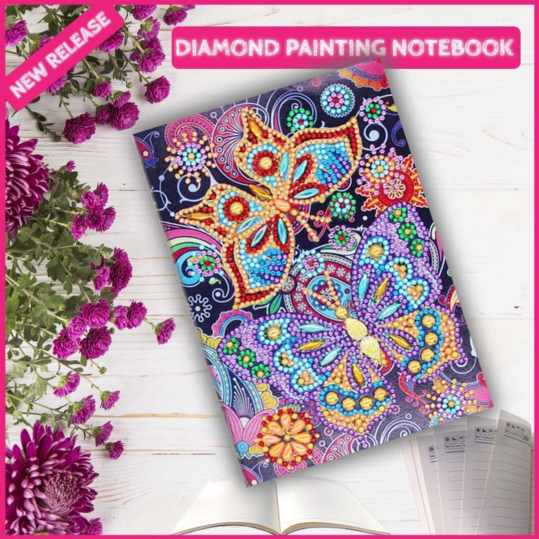 DIY Butterfly V2 NoteBook Diamond Painting