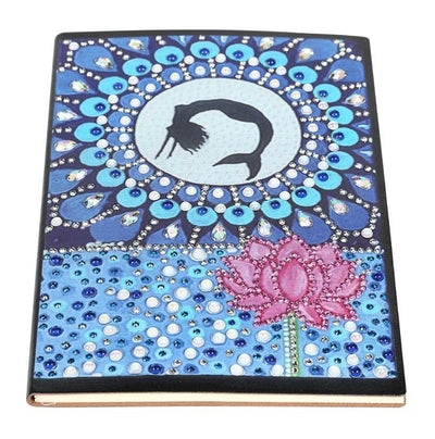 DIY Fish Tail NoteBook Diamond Painting