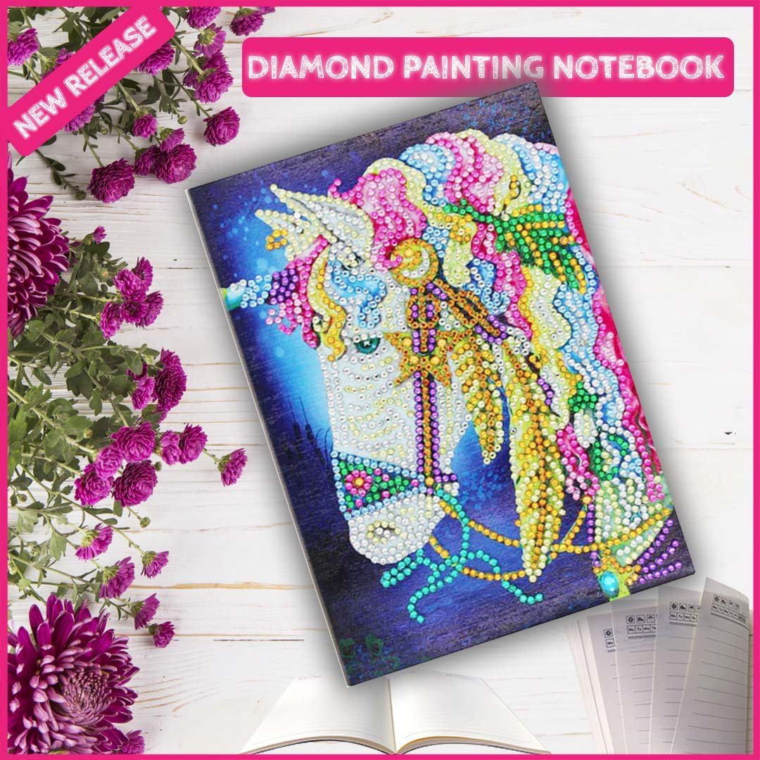 DIY Unicorn NoteBook Diamond Painting