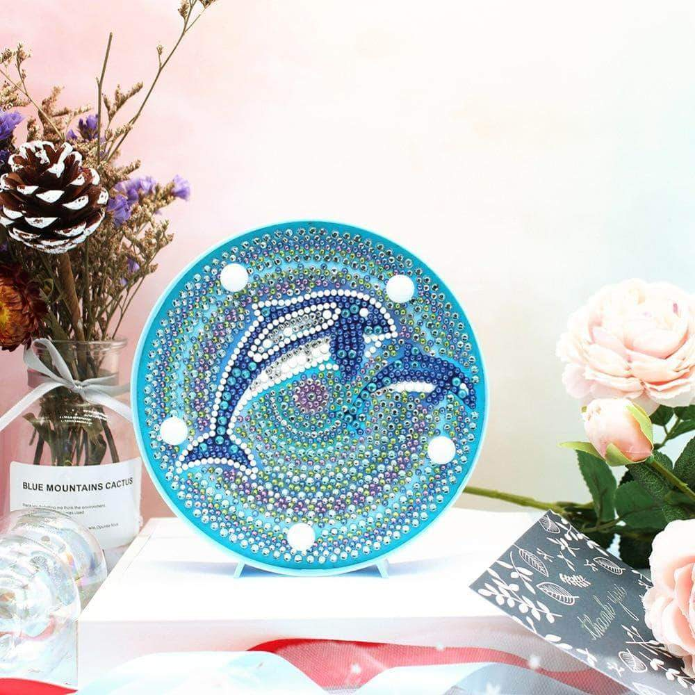 DIY Whales Light Diamond Painting