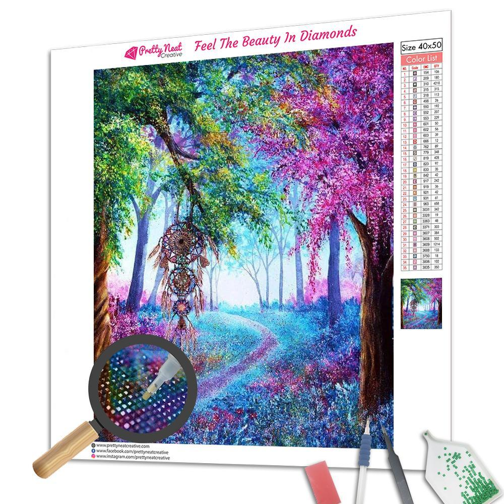 Dream Catcher Colorful Wonderland Square Diamond Painting