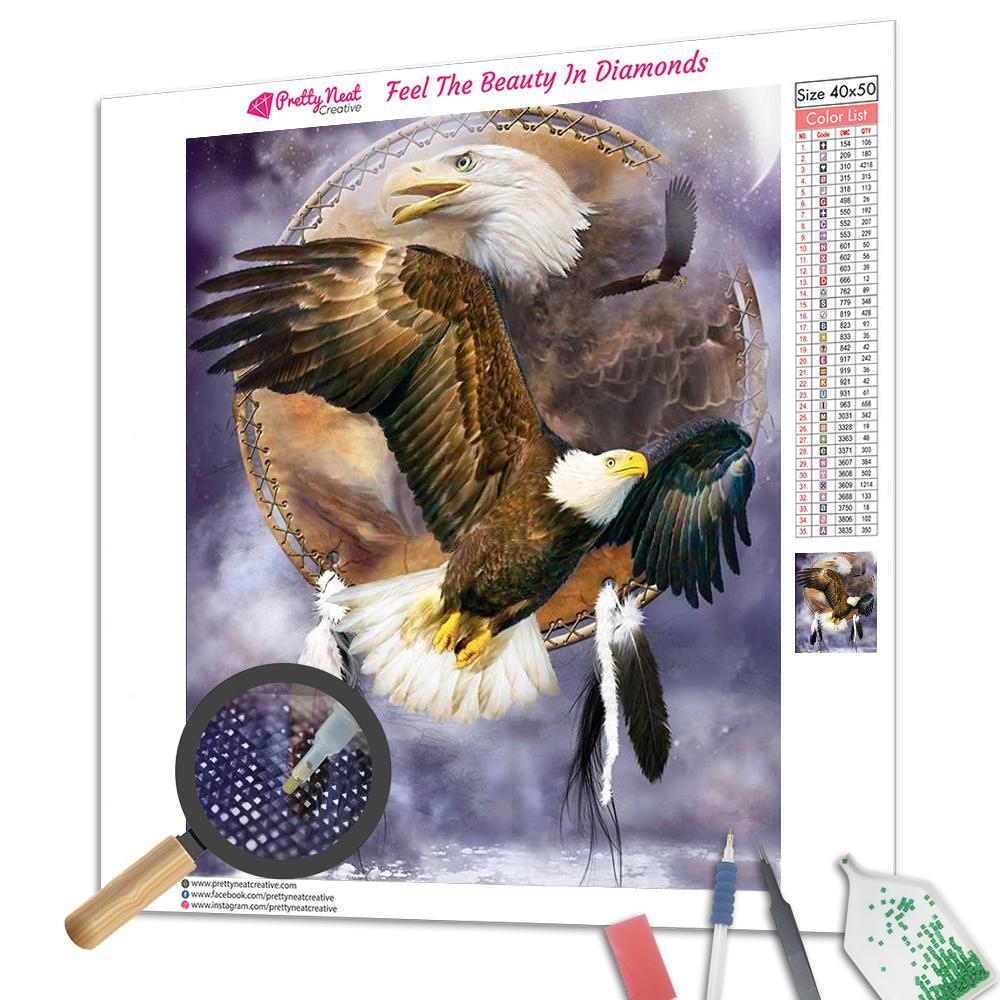 Eagle Dream Catcher Diamond Painting