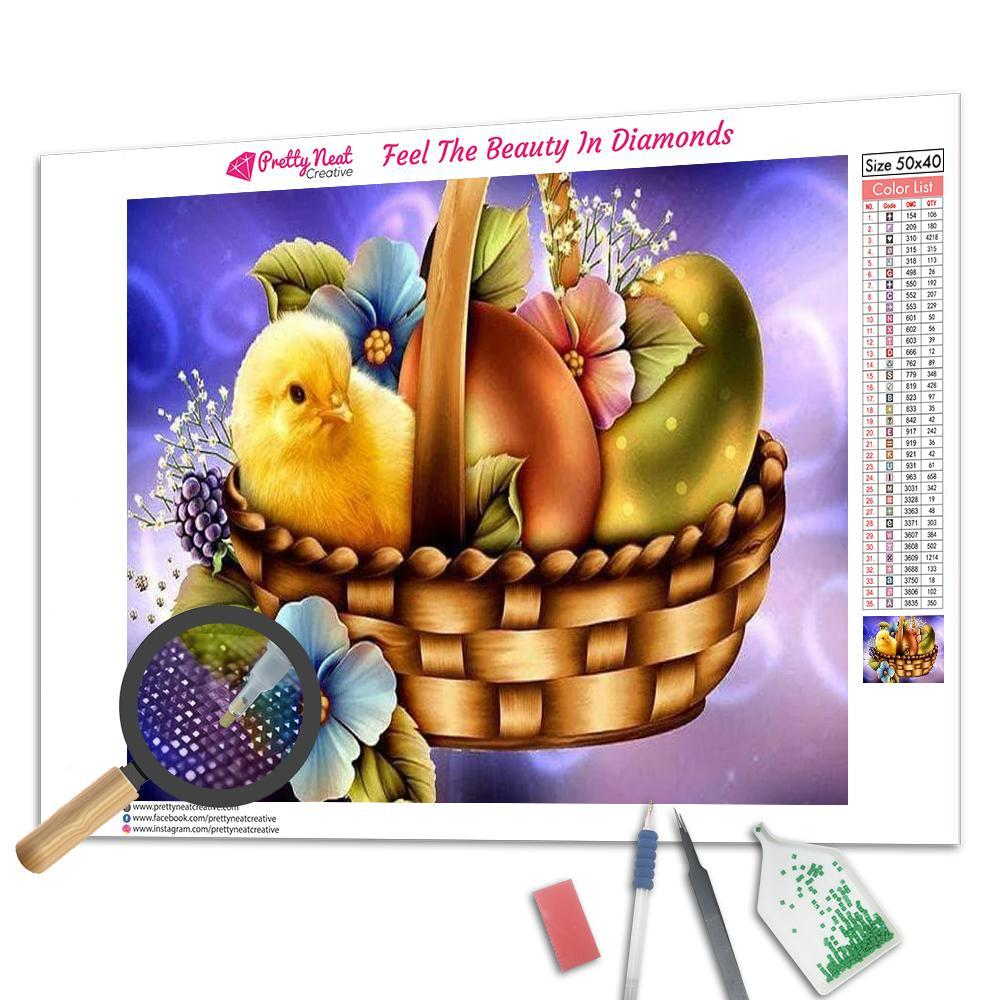 Easter Chick Diamond Painting