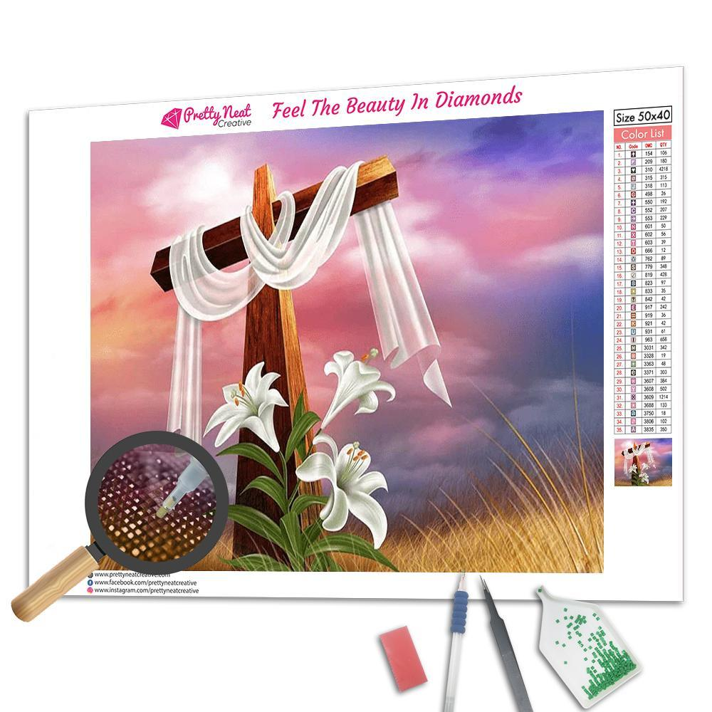 Easter Cross Diamond Painting
