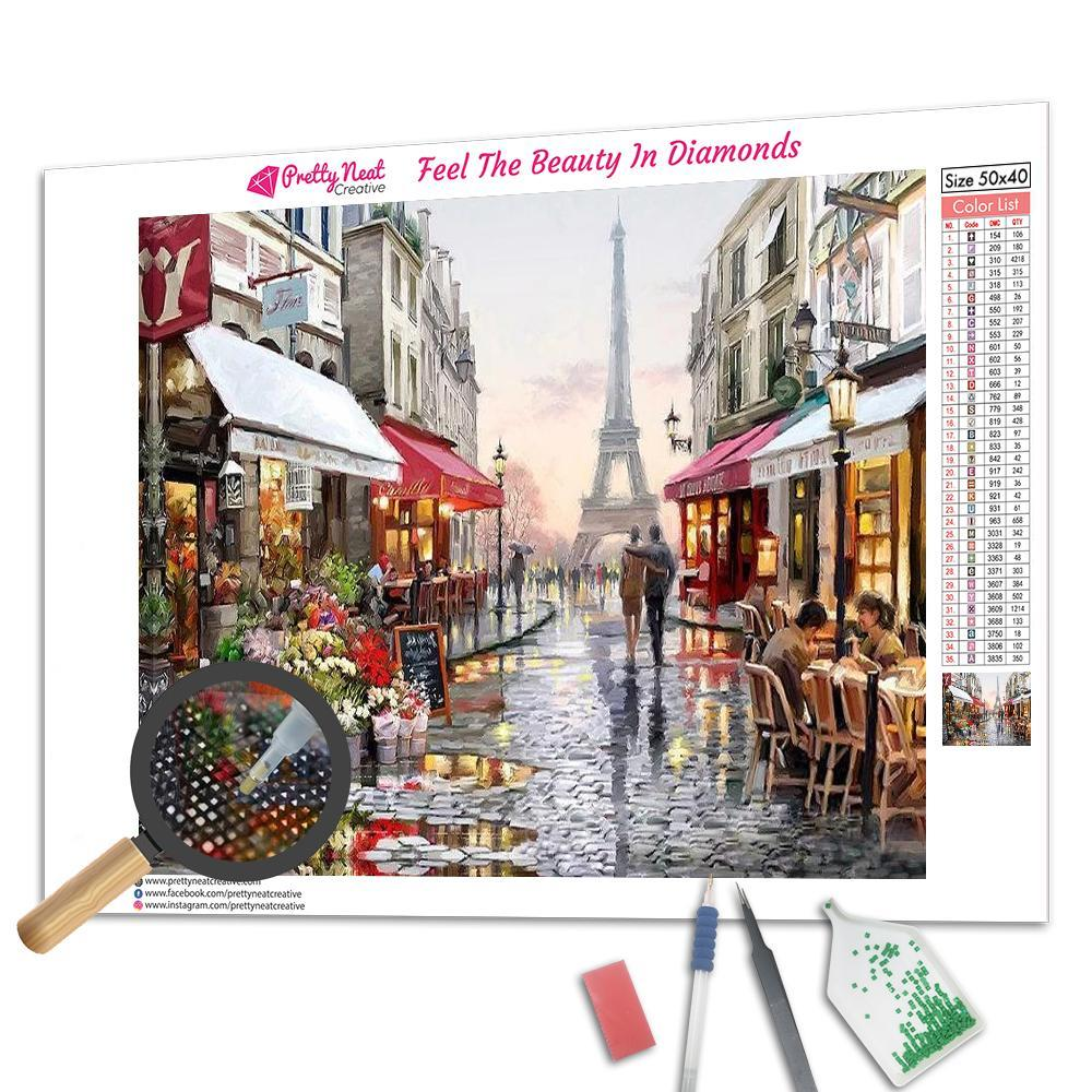 Eiffel Tower 5D Square Diamond Painting