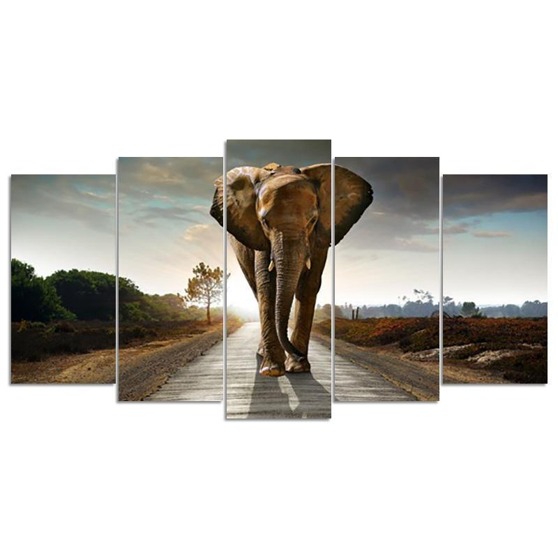 Elephant Square Multi-Diamond Painting