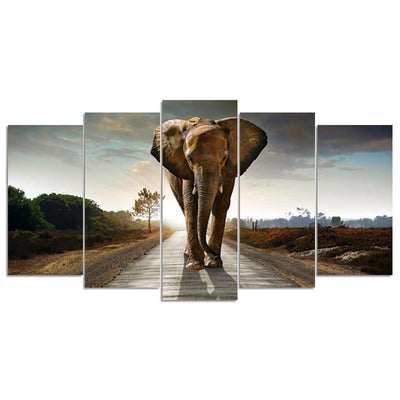 Elephant Multi-Diamond Painting