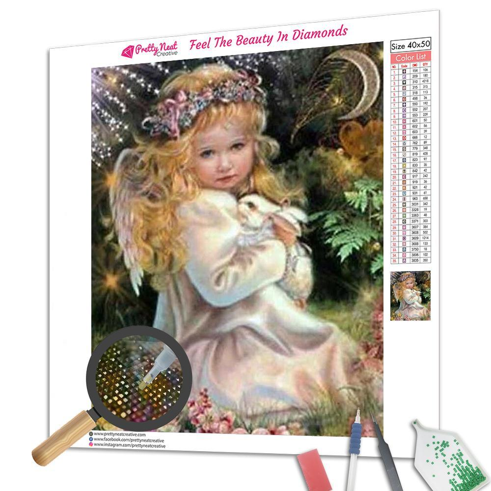 Fairy Little Angel Girl Diamond Painting