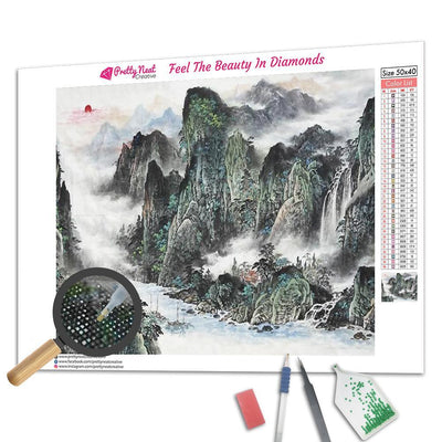 Famous Chinese Landscape Diamond Painting