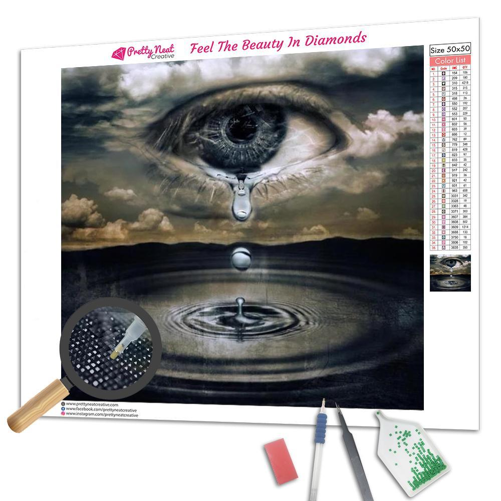 God's Tears Square Diamond Painting
