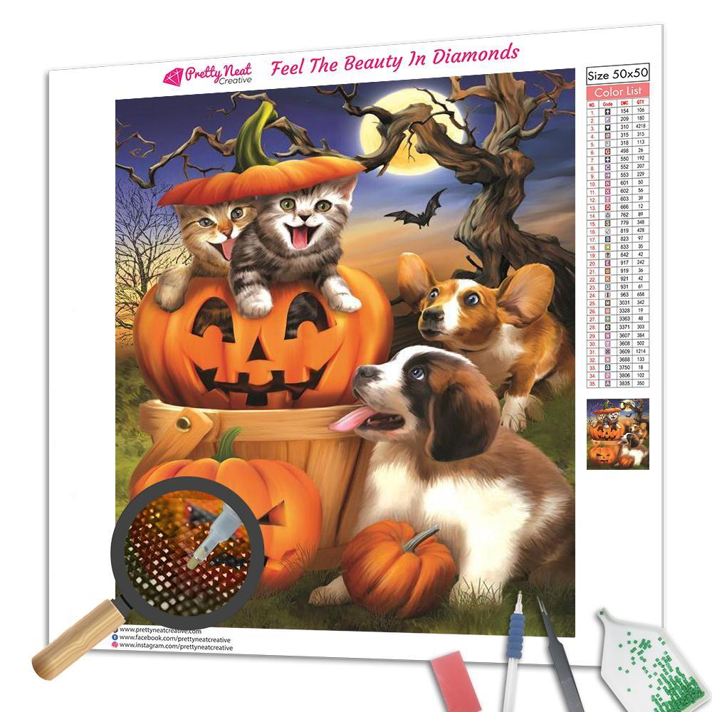 Halloween Pets Diamond Painting