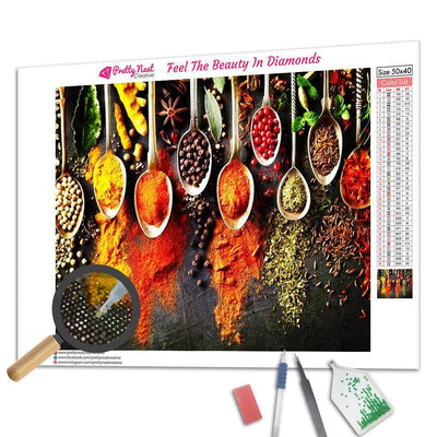 Herbs And Spices Diamond Painting