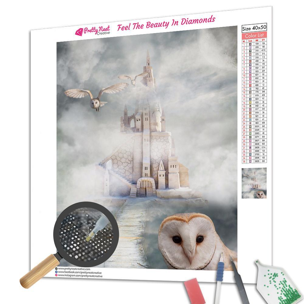 Hogwarts Owl Square Diamond Painting