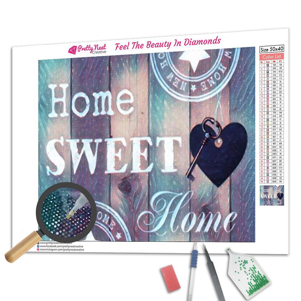 Home Sweet Home Square Diamond Painting
