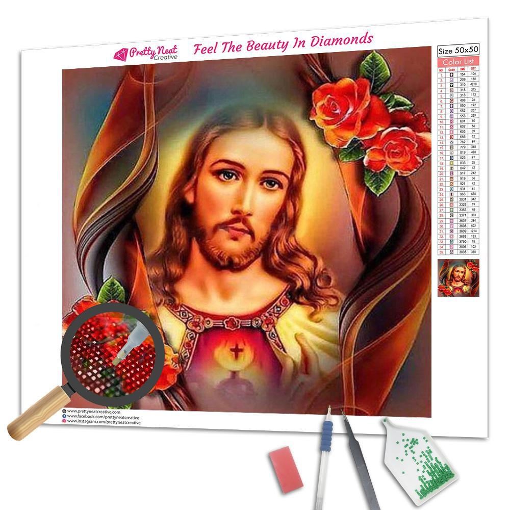 Jesus 5D Square Diamond Painting