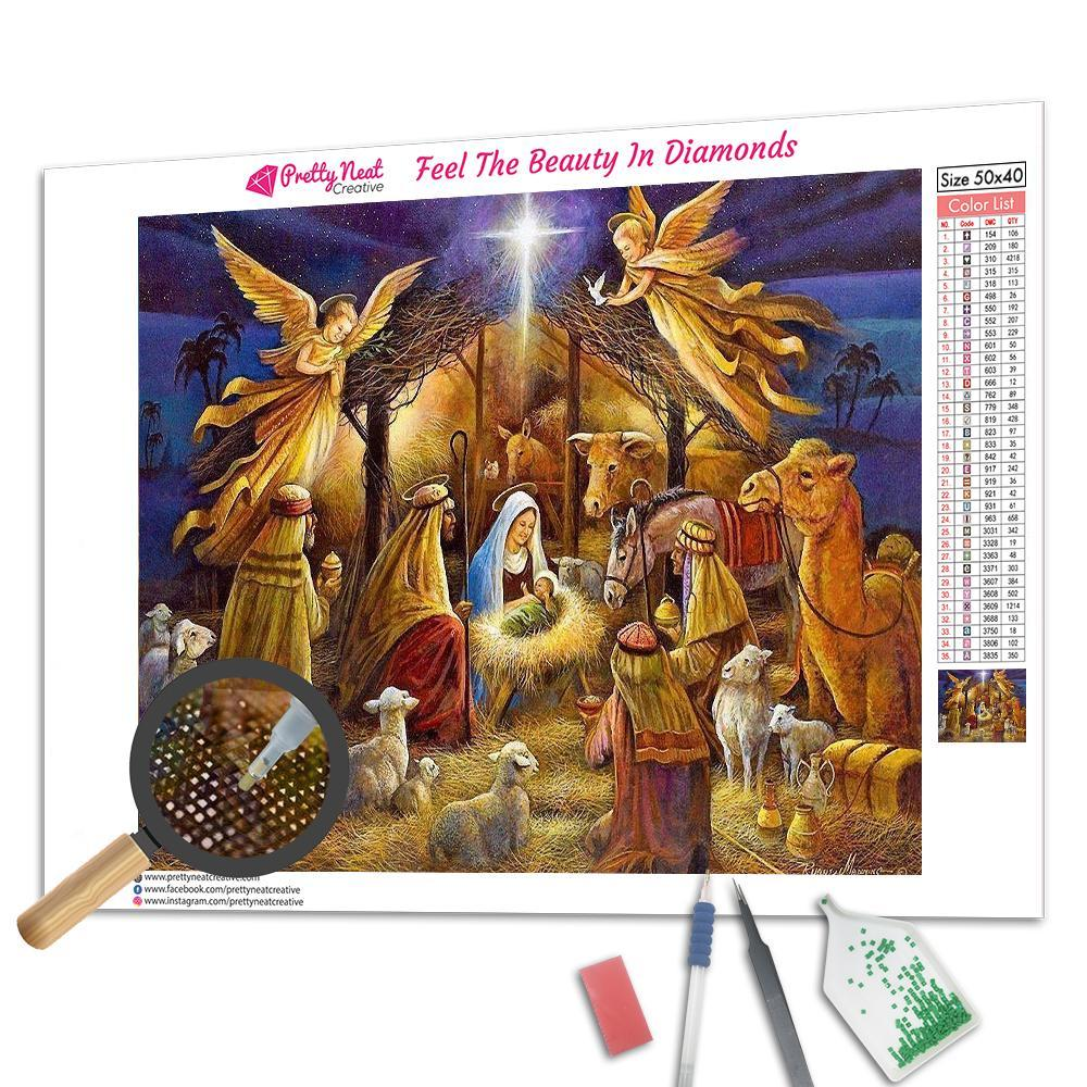 Jesus Christ Birth Time Diamond Painting