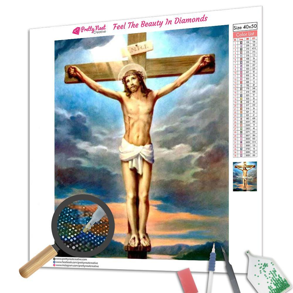 Jesus Square Diamond Painting