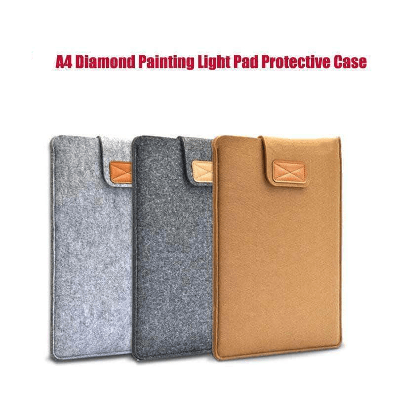 Light gray / A4 Case: 36x27x0.6 Cm/ 14.4x10.8x0.24 Inch Light Pad Case A4