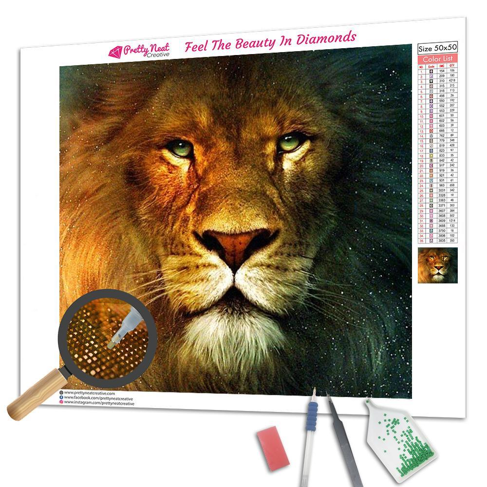 Lion King Square Diamond Painting