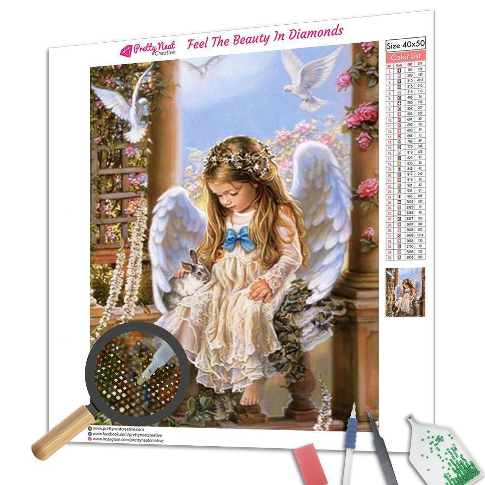 Little Angel 5D Square Diamond Painting