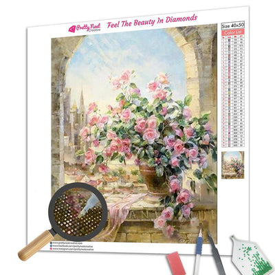Lucky Flower 5D Square Diamond Painting