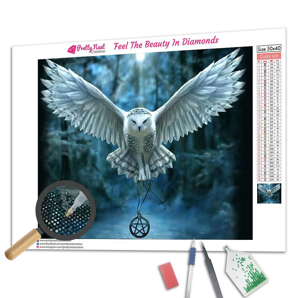 Magic Owl Diamond Painting