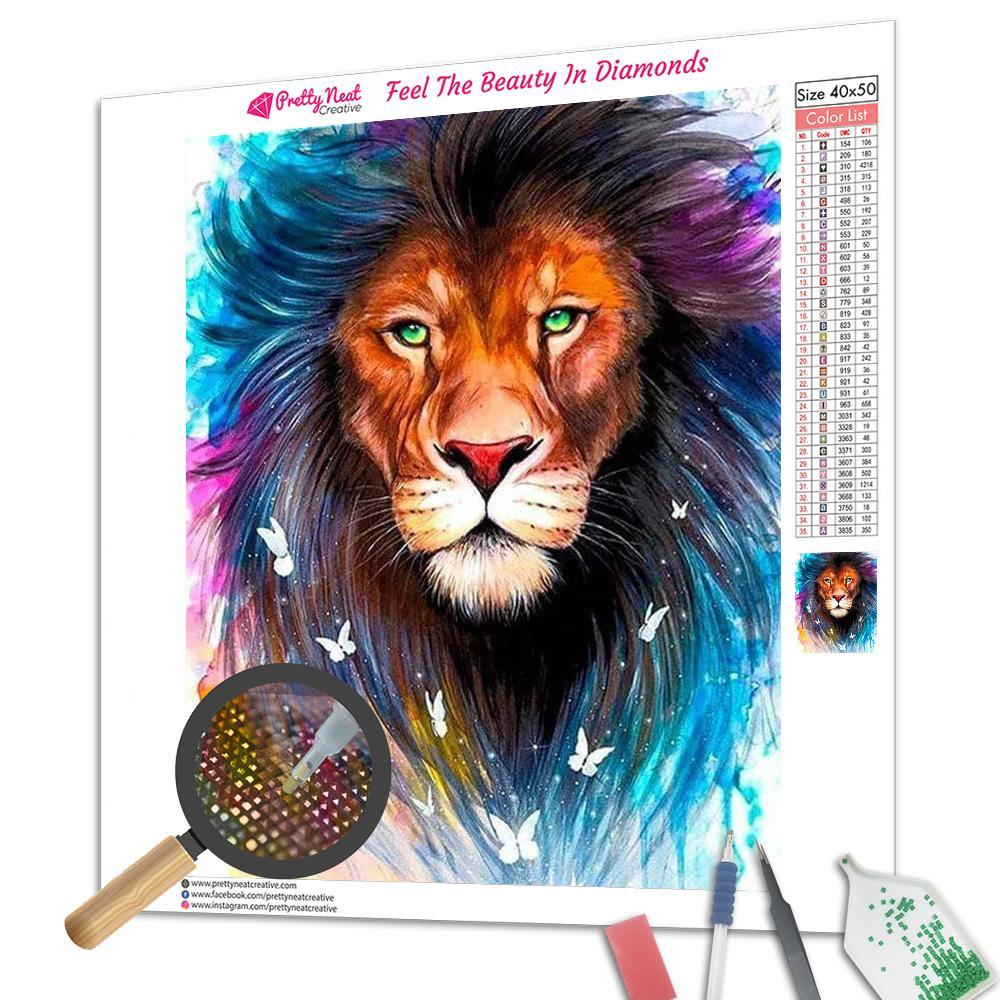 Majestic Lion Diamond Painting