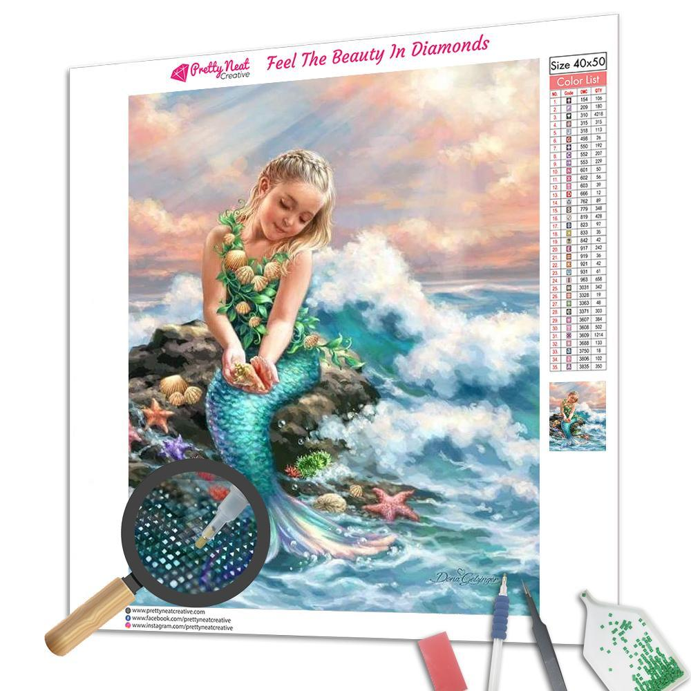 Mermaid Princess Diamond Painting