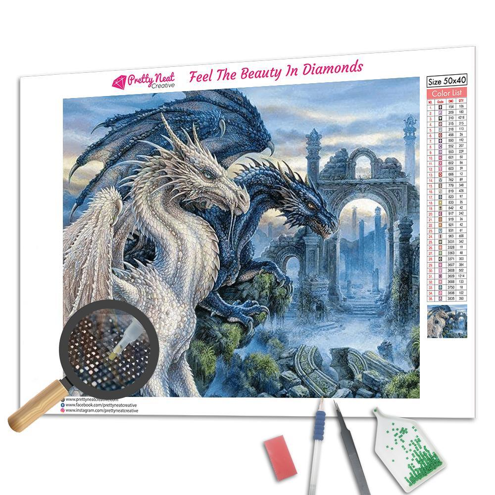 Mystical Dragons Diamond Painting