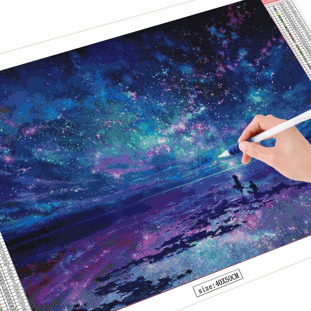 Ocean, Stars, Sky, and You Diamond Painting
