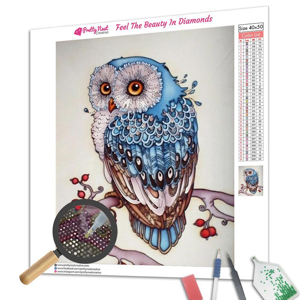 Owl 5D Diamond Painting