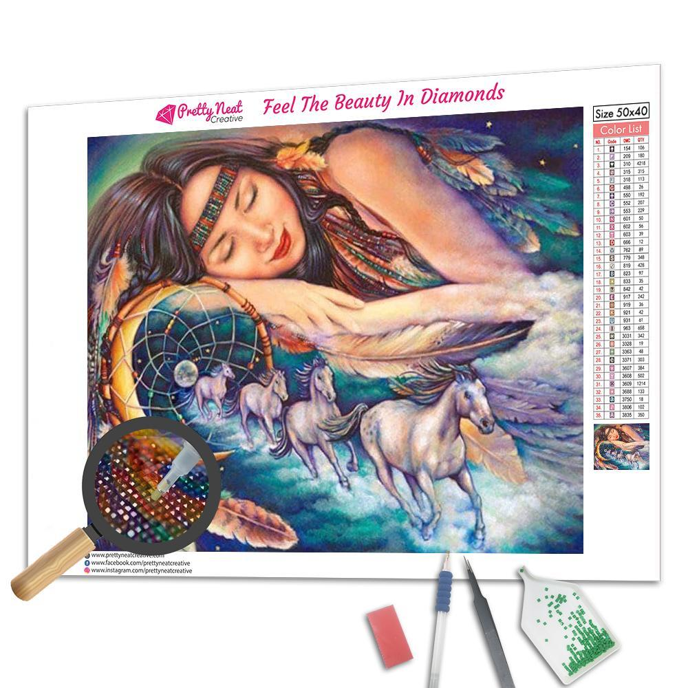 Path of the Dream Catcher Square Diamond Painting