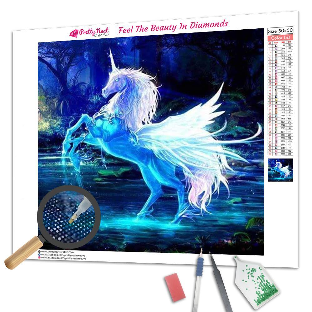 Pegasus 5D Square Diamond Painting