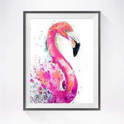 Pink Flamingos 5D Square Diamond Painting