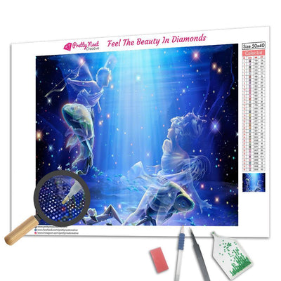 Pisces Constellation Diamond Painting