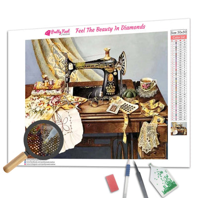 Sewing Machine 5D Diamond Painting
