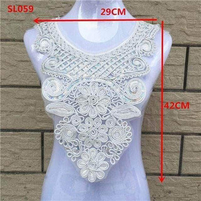 SL059 3D Flower Lace